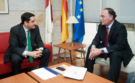 Echaniz se reúne con el presidente  del Consejo Consultivo