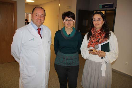 Gerente MC con jefa Endocrino y presidenta SCAMEND