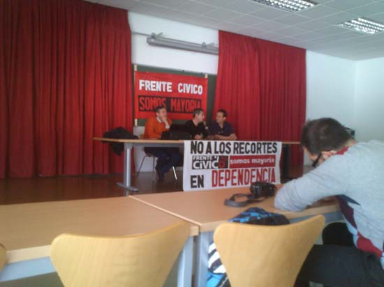 Jose LuisGomez-Ocaña, Rafael Pérez Pulgarin y Enrique Rivas