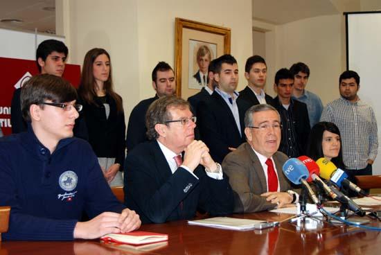 Luis Miguel Cano, Miguel Ángel Collado, Pedro Carrión y Ana Isabel Gómez