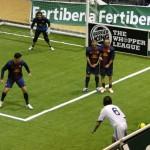 El FC Barcelona le devuelve la moneda al Real Madrid CF en el 'clásico' de la Liga Fertiberia de Fútbol Indoor