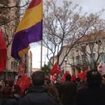 Ciudad Real: Tibia participación en la manifestación contra el paro y la corrupción convocada por la Cumbre Social