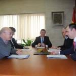 Marín se reúne con los organizadores de la séptima Edición de la 'Olimpiada Informática de Castilla-La Mancha'