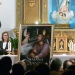 Manzanares: Miriam Madrid presenta el Cartel de la Semana Santa 2013