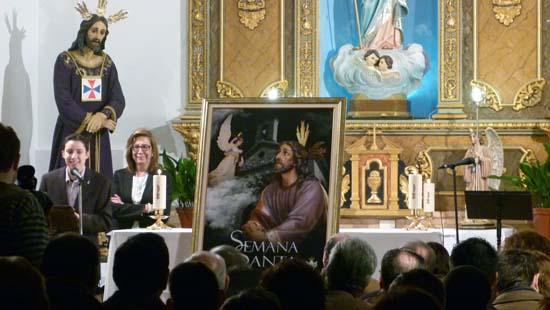 Miriam Madrid e Isabel Quintanilla cartel Semana Santa 2013