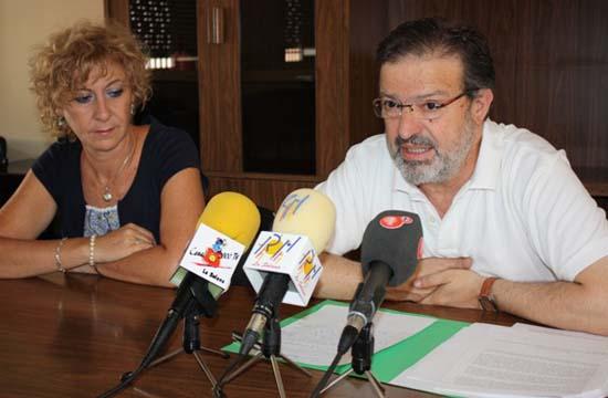 Nemesio de Lara y Paqui Rivera (Foto: Ayuntamiento de La Solana)