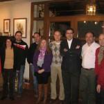 El senador Miguel Ángel Rodríguez se reunió con la Junta Local del PP de Piedrabuena