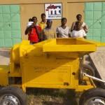 Solman y Ayuntamiento de Miguelturra concluyen el proyecto de construcción de una desgranadora de maíz en Togo