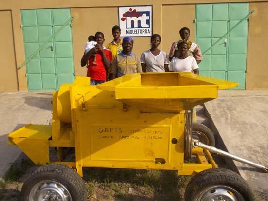 Proyecto de almacén en Togo