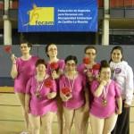 El club deportivo Puerta del Vino participa con éxito en los campeonatos regionales de Gimnasia Rítmica y Tenis de Mesa