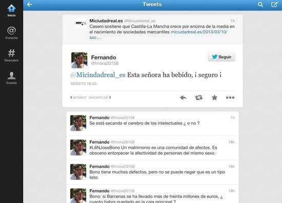Tweet Fernando Mora