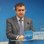 """Martín-Toledo asegura que el Gobierno """"ha sentado las bases de una recuperación económica que va a ser sostenida en el tiempo, firme y sólida"""""""