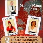 Poesía y copla para el primer fin de semana de marzo en Pedro Muñoz