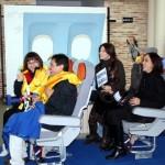 Calzada de Calatrava se convierte en aeropuerto para estrenar la última película de Pedro Almodóvar