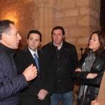 Ayuntamiento y Junta de Comunidades cofinancian las obras de iluminación artística de la ermita de Alarcos