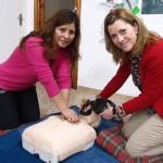Profesionales sanitarios de la Gerencia de Atención Integrada de Tomelloso forman a 25 monitores de ocio en primeros auxilios