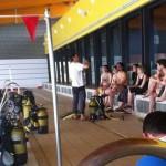 Daimiel: Bautismo de buceo en la Piscina Climatizada