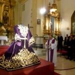 Daimiel: Presentada la nueva túnica de Nuestro Padre Jesús Nazareno