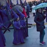 """Daimiel: La amenaza de lluvia impide la salida de """"Los Moraos"""""""