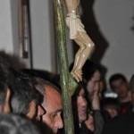 Daimiel: El Vía Crucis nocturno de la Archicofradía de la Pasión se tuvo que celebrar en el interior del convento del Cristo de la Luz