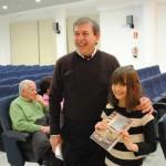"""El Centro Cultural """"La Confianza"""" acogió la presentación del segundo libro de la joven escritora Raquel Fernández"""