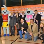 Tomelloso acogió un brillante campeonato regional de gimnasia rítmica y tenis de mesa