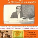 Herencia organiza unas jornadas-homenaje al maestro Hermógenes Rodríguez el 17 de marzo