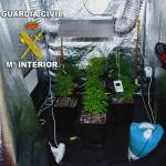 La Guardia Civil detiene a una persona en Tomelloso por simulación de delito, estafa y cultivo de marihuana
