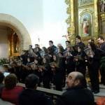 El pregón de Eulalio García–Motos y el concierto en inglés de la Coral Polifónica Santísima Trinidad abrieron los actos de Semana Santa de Torralba