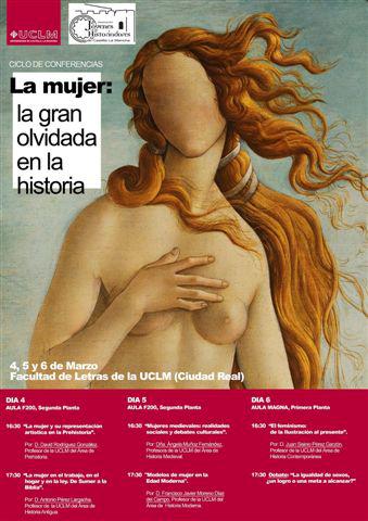 La mujer en la Historia centra un ciclo de conferencias de la Facultad de Letras