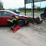 Accidente en Ciudad Real: Un herido tras perder el control de su vehículo al sufrir un infarto