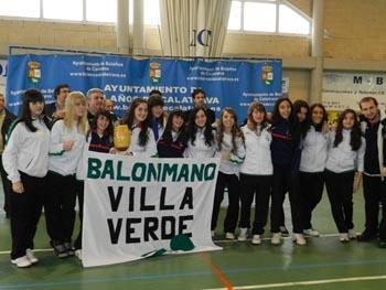 BM  Base Villaverde (Campeón cadete femenino)
