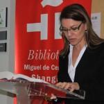 La presidenta Cospedal participa en la lectura de 'Don Quijote de la Mancha' en el Instituto Cervantes de Shanghái