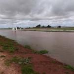 Daimiel: El Azuer se desborda de nuevo y obliga a levantar dos diques más