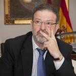 """Nemesio de Lara, presidente de la Diputación de Ciudad Real: """"El PSOE está como vaca sin cencerro, lo tengo que reconocer"""""""