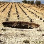 Impresionante: El terreno se desploma en varias fincas de Daimiel y descubre enormes y peligrosas oquedades
