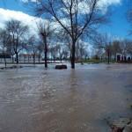 Villamayor de Calatrava: tercera inundación en cinco meses por el desbordamiento del arroyo