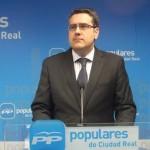 """Rodríguez (PP) acusa al PSOE de """"izquierdismo radical"""" por su presunta participación en las concentraciones de la PAH de Ciudad Real"""