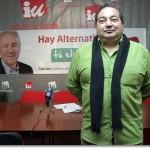 """Entrevista a Miguel Ramírez, coordinador provincial de IU: """"En Castilla-La Mancha alguna encuesta arroja una intención de voto a IU superior al PSOE"""""""