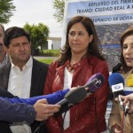 Ciudad Real: Rosa Romero y la consejera de Fomento estudian las obras de la carretera de Picón y Las Casas
