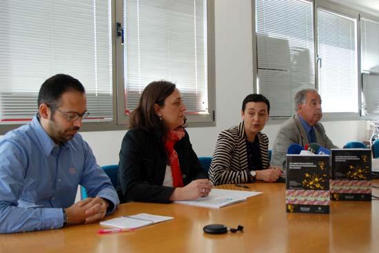 Oscar Jerez, Ana Callejas, Beatriz Cabañas y Emilio Nieto