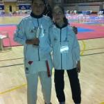 Los ciudadrealeños Patricia Maldonado y Miguel Jiménez, terceros clasificados en el Campeonato de España de Kárate