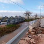 Daimiel: Las maniobras de la UME ayudarán a reabrir el tráfico en la carretera de Manzanares