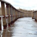 Las Tablas de Daimiel, como nunca vistas: el agua inunda las pasarelas