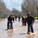 La provincia de Ciudad Real, desbordada: Espectaculares imágenes de las inundaciones en Fernán Caballero