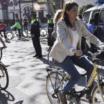 La alcaldesa de Ciudad Real anuncia la constitución de una Mesa de la Bicicleta