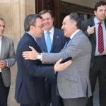 """Los alcaldes de Alcázar y Algeciras subrayan los """"intereses compartidos"""" de ambos municipios y el ánimo de trabajar conjuntamente"""