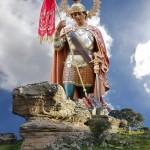 Aldea del Rey vive durante todo el fin de semana los actos en honor a su patrón, san Jorge, fiesta que este viernes pregona Félix Jesús Alañón Moya