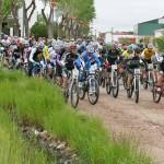 Almodóvar: Ángel López se impuso con autoridad en la XIII Ruta BTT 'Valle de Alcudia' celebrada en una fría mañana de domingo que tuvo incluso nieve