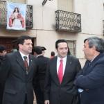 Visita del delegado de la Junta en Ciudad Real a la tradicional Romería de Bolaños de Calatrava
